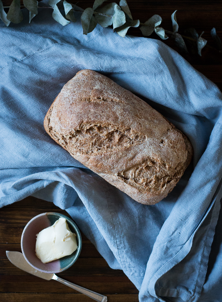 Honey Spelt Bread Recipe | Linden & Lavender