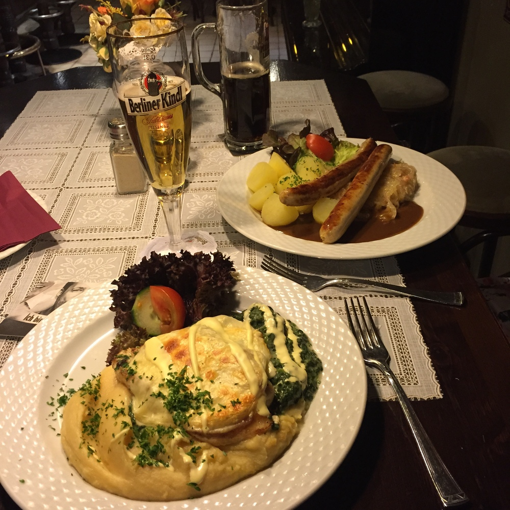You gotta love German food!!!