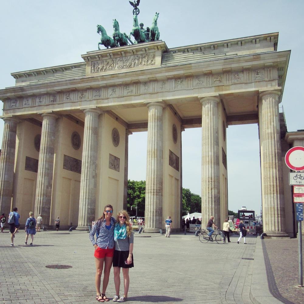 Brandenburg Gate!