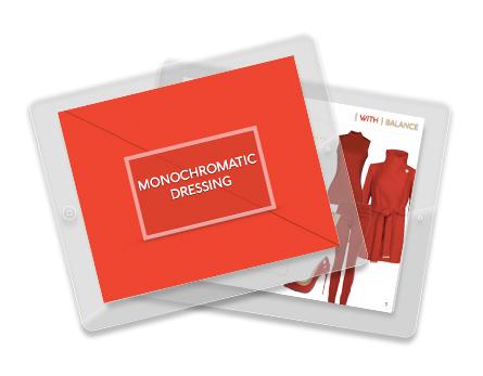 Monochromatic Dressing