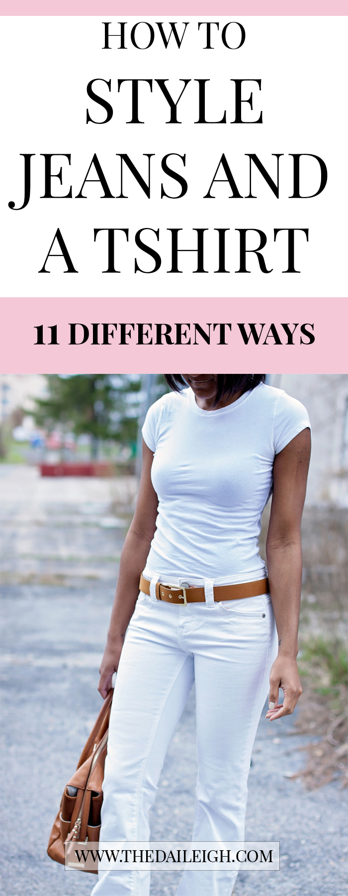 How To Style Jeans And Tshirt