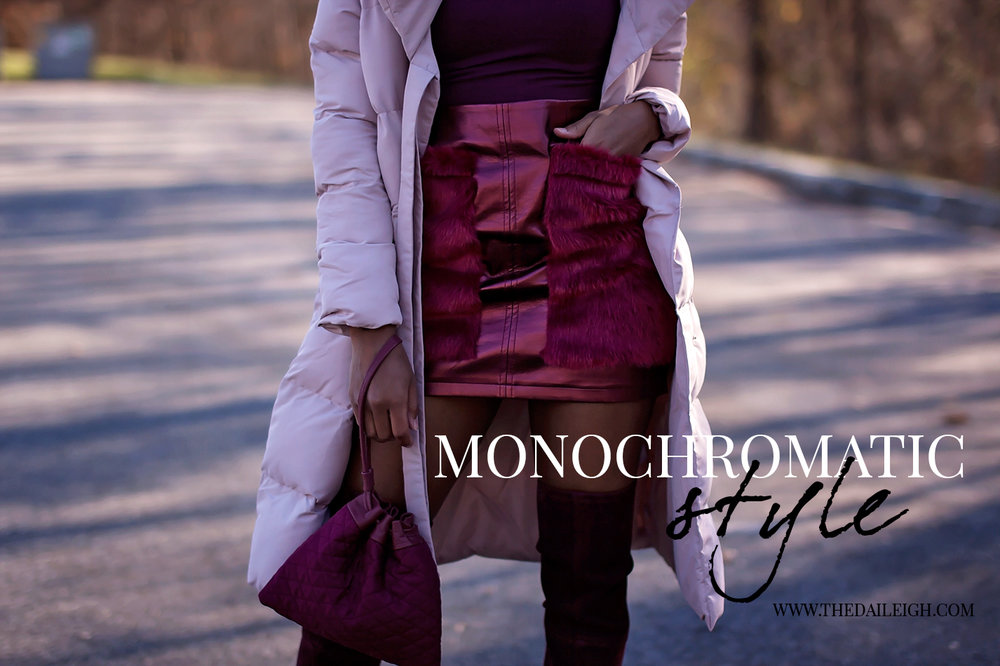 How To Style A Monochromatic Look
