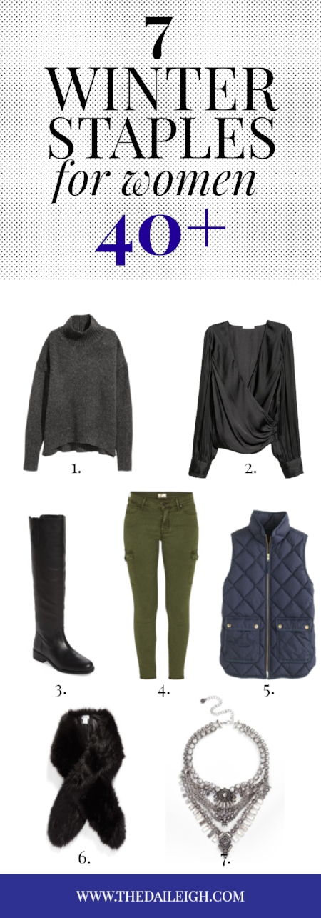 Winter Staples for Women 40 and Over