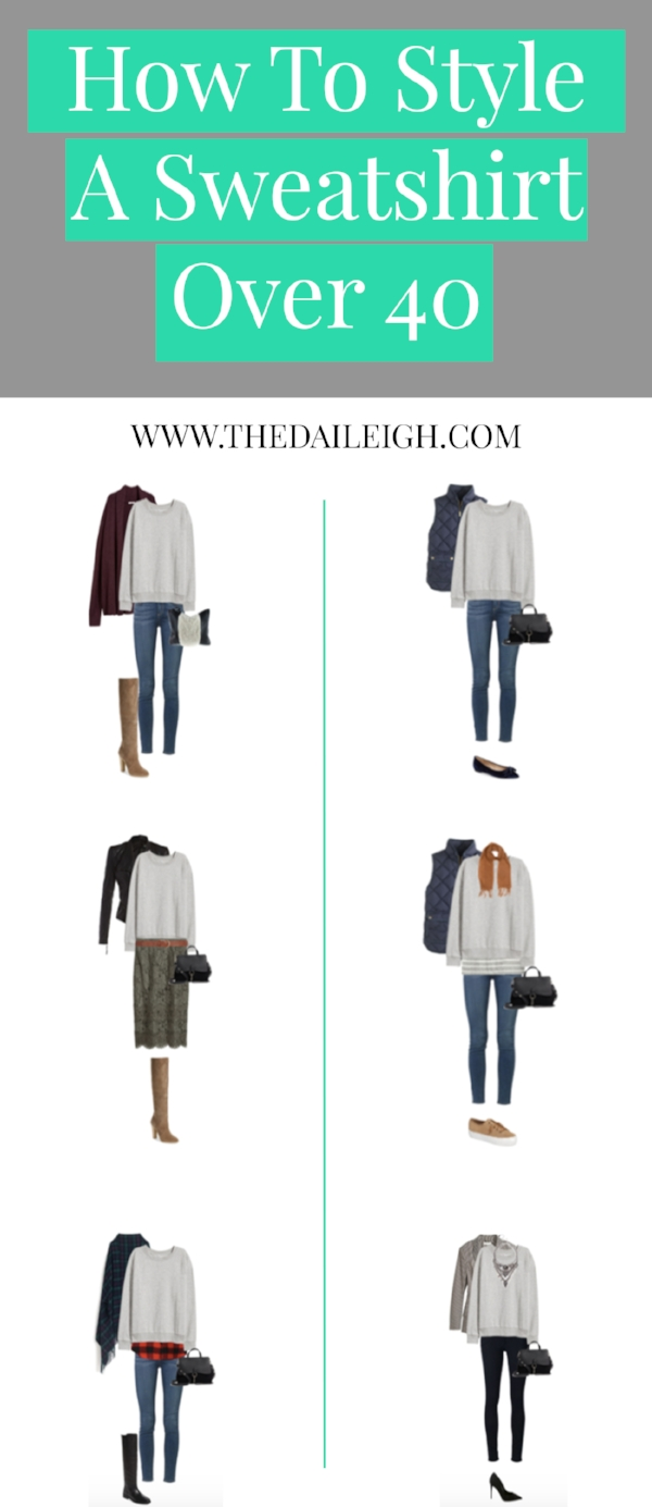 How To Style A Sweatshirt