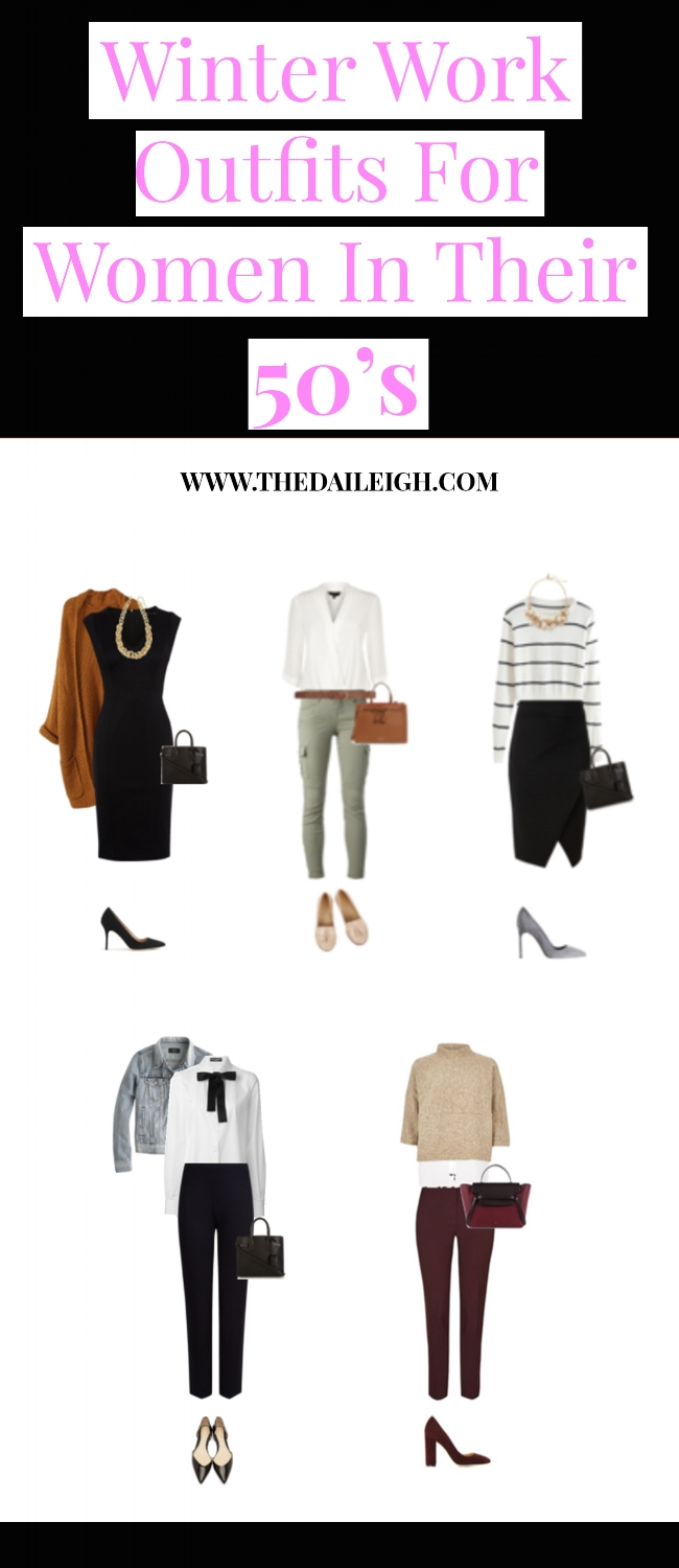 Winter Work Outfits For Women In Their 50's