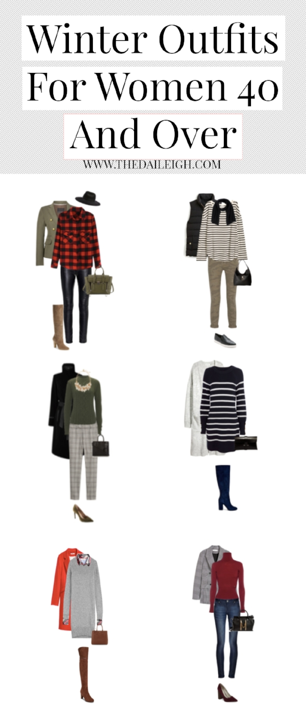 Winter Outfits For Women 40 and Over