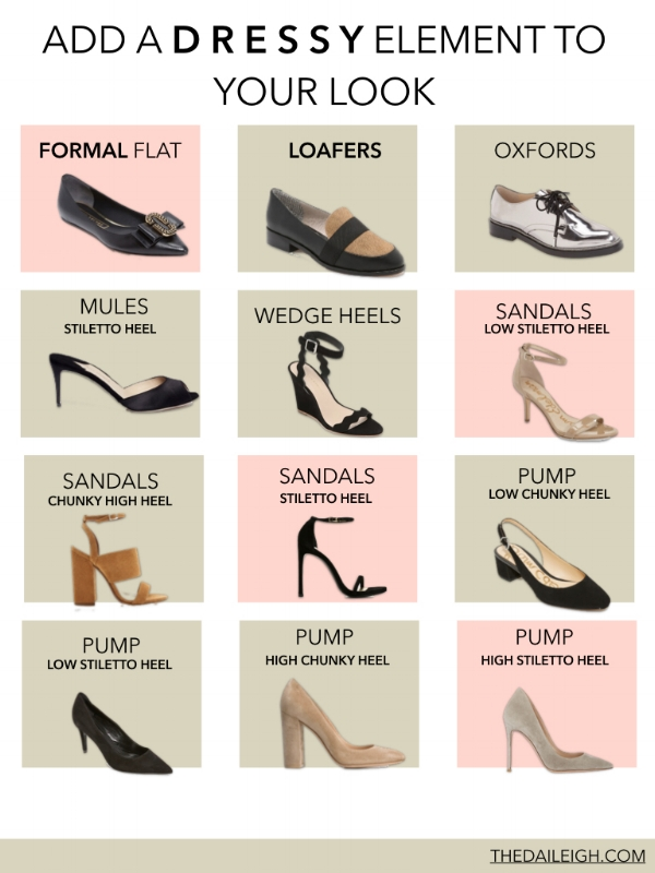 How To Pair Shoes With Outfits