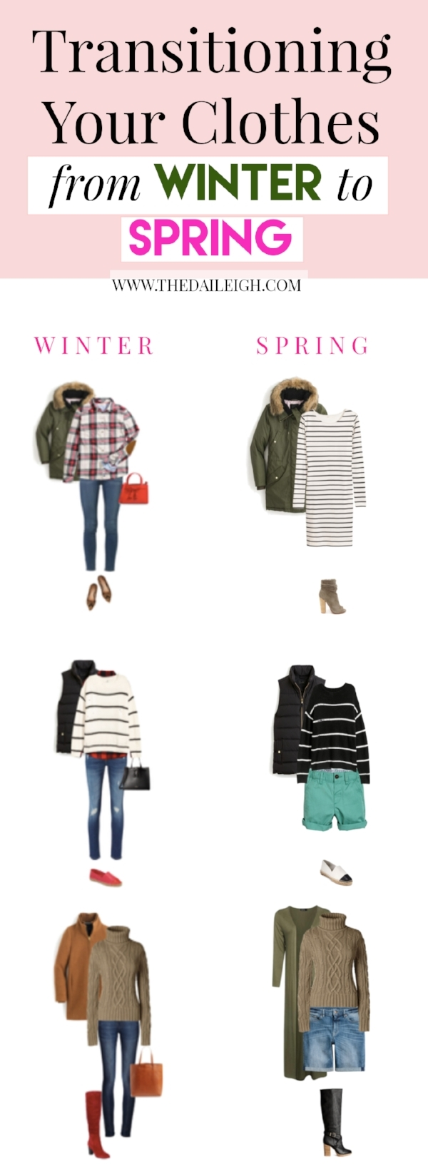 How To Wear Winter Clothes In Spring