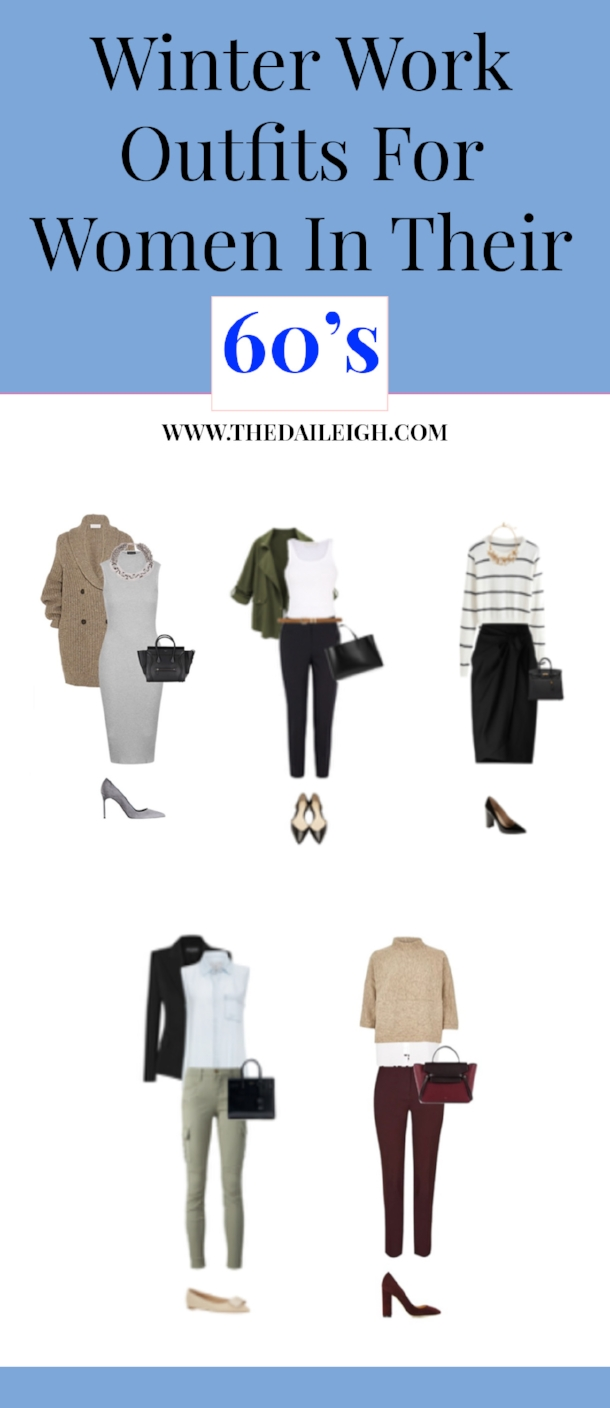 Winter Work Outfits For Women In Their 60's