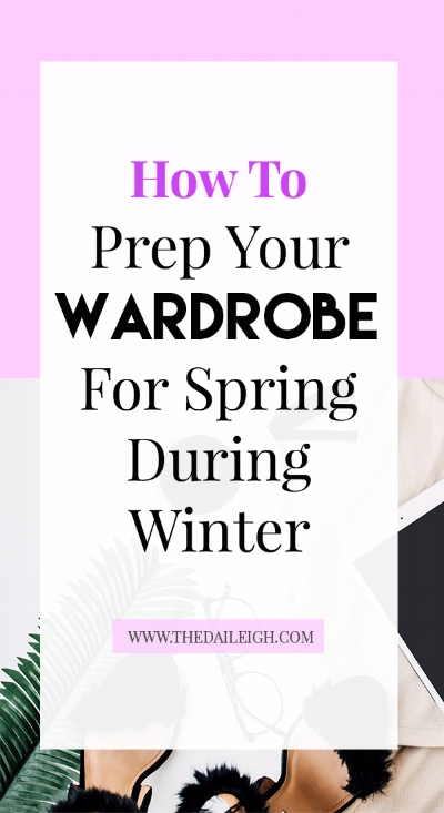 How To Prep Your Wardrobe For Spring