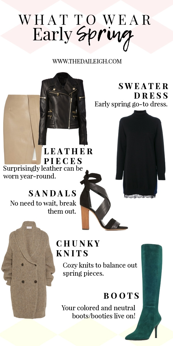 What To Wear In Early Spring
