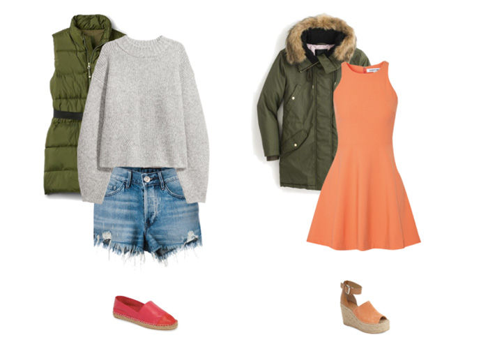 Wear Winter Clothes In Spring