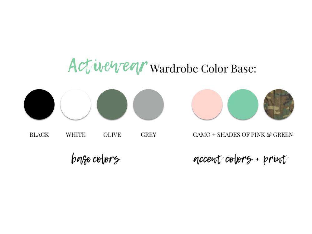Activewear Capsule Wardrobe
