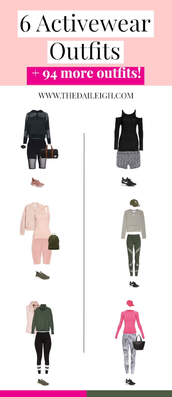 6 Activewear Outfits
