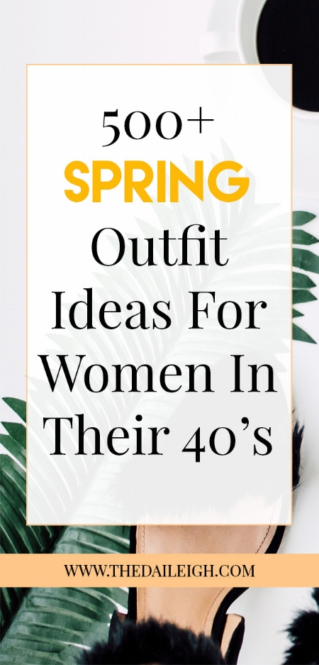 Spring Style: How To Dress In Your 40's