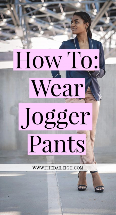 How To Wear Jogger Pants