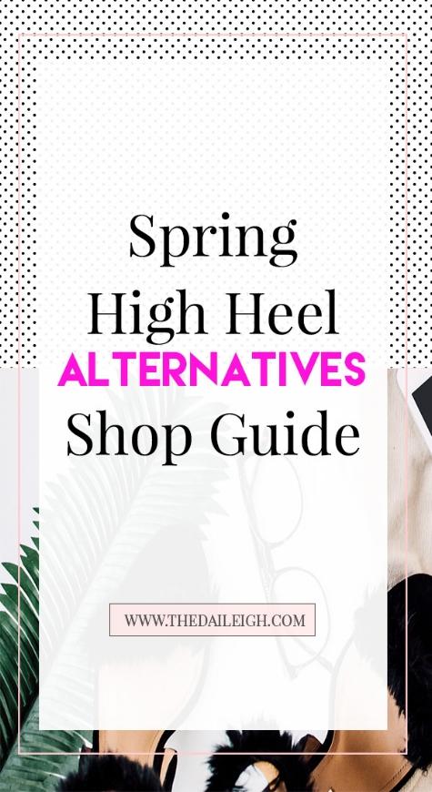 Spring High Heel Alternatives
