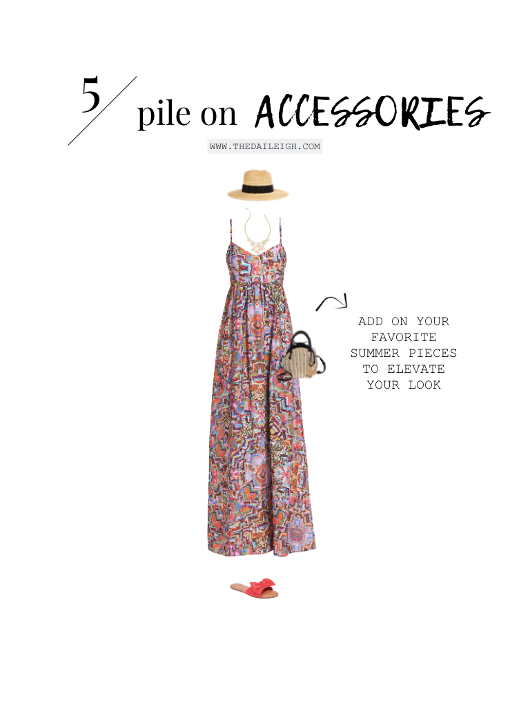 How To Wear A Maxi Dress