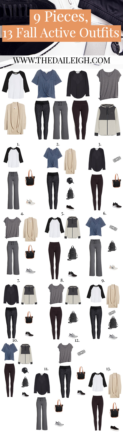 Fall Workout Outfits