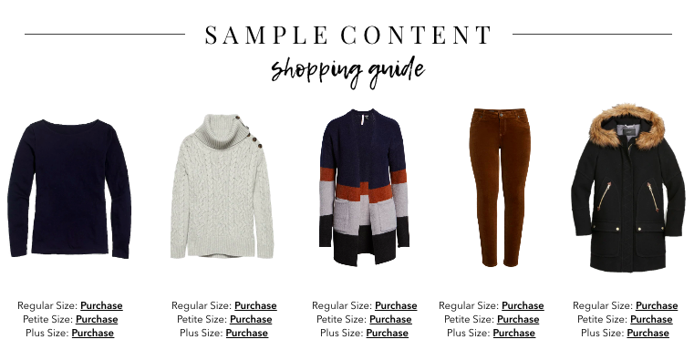 541aca78839 This eBook provides you with the basic pieces you can wear throughout the  season and coordinate with different winter items in your closet.