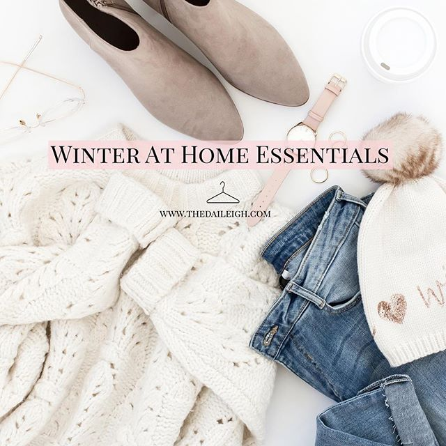 Cozy At Home Winter Wardrobe Essentials + Outfit Ideas ❄️ || Link In Profile For Full Details On Winter At Home eBook