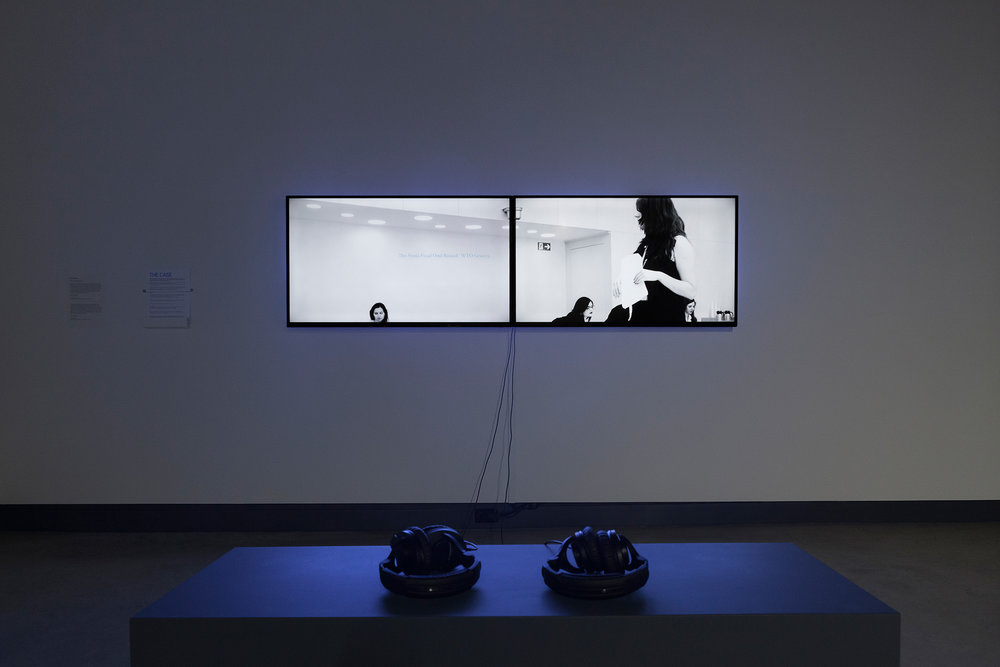© Gabriela Löffel, The Case (2015). Vue de l'exposition. Photo : Marilou Crispin.