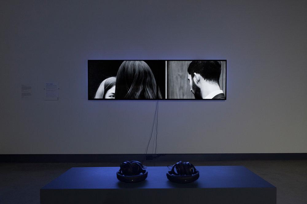 © Gabriela Löffel, The Case (2015). Vue de l'exposition. Photo : Marilou Crispin.