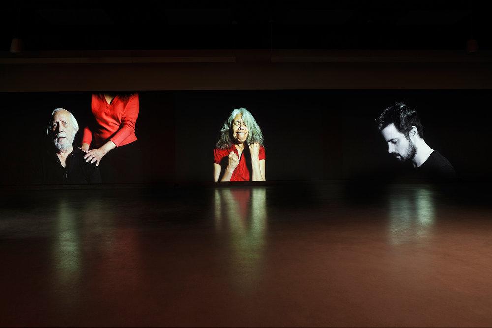 © Nadia Seboussi,  Hidad  (2015). Vue de l'exposition. Photo : Marilou Crispin.