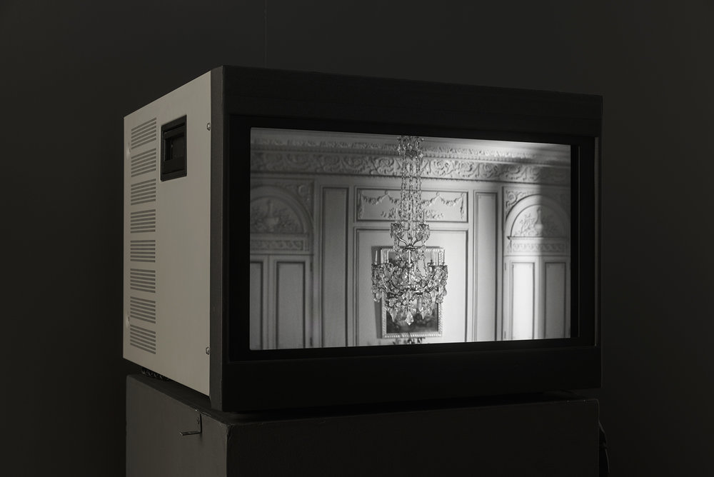 © David K. Ross,  The European Rooms  (2014). Vue de l'exposition. Photo : Guy L'Heureux.