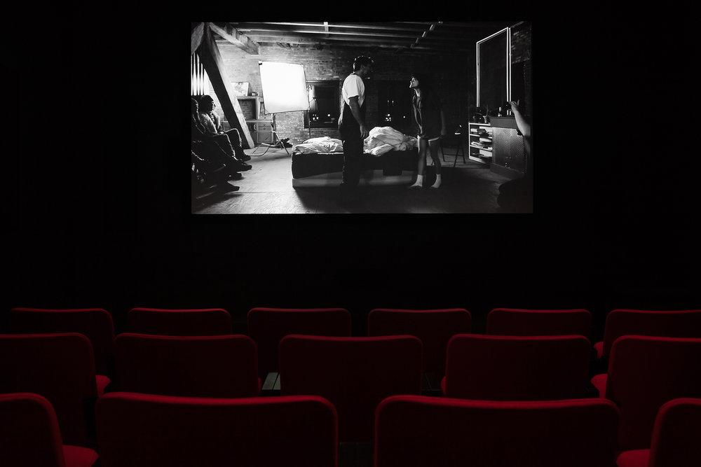 © Elise Rasmussen,  Variations  (2013). Vue de l'exposition.Photo : Marilou Crispin.