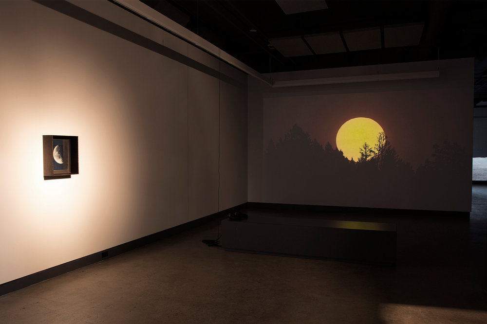 © Scott Massey, vue de l'exposition Light Adjustments (2014-2015). Photo : Sara A. Tremblay.