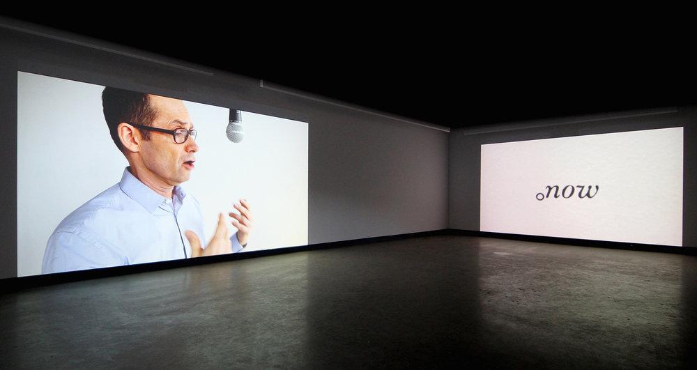 © Nelson Henricks, A Lecture on Art (2015). Vue de l'exposition. Photo : Veronica Mockler.