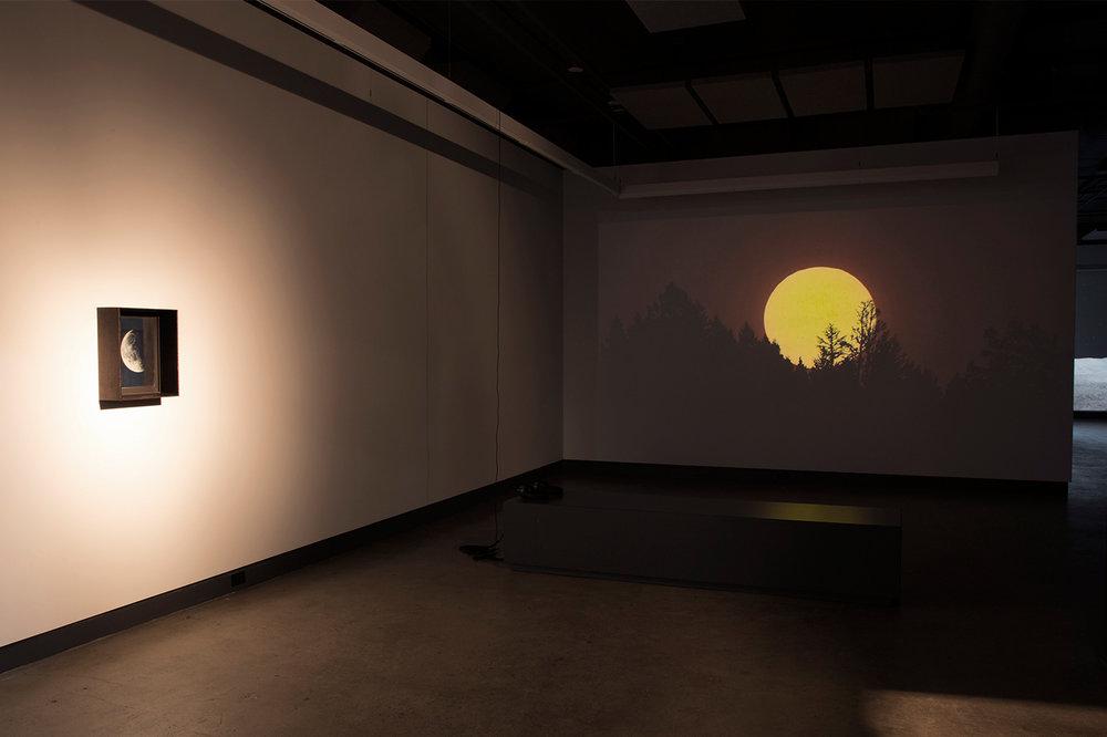 © Scott Massey, vue de l'exposition  Light Adjustments (2014-2015). Photo : Sara A. Tremblay.