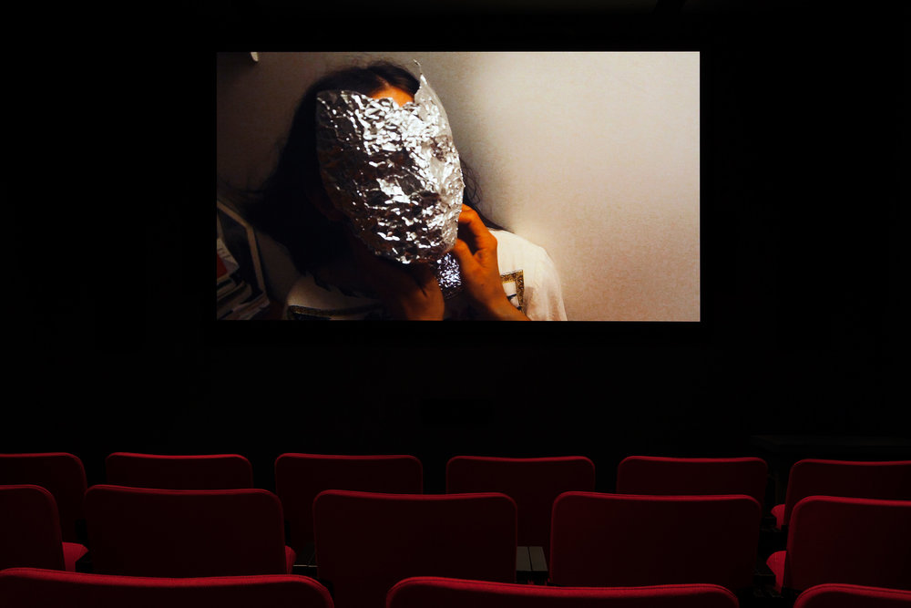 © Dylan Mira,  A Woman is Not a Woman  (2015). Vue de l'exposition. Photo : Marilou Crispin.