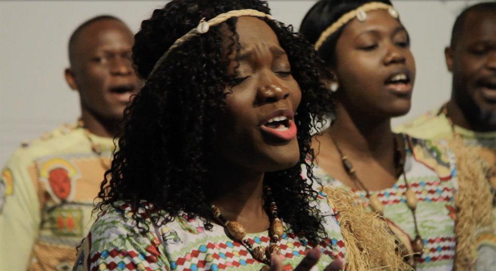 Chorale Afrika Intshiyetu. Photo : Andrée-Anne Roussel.