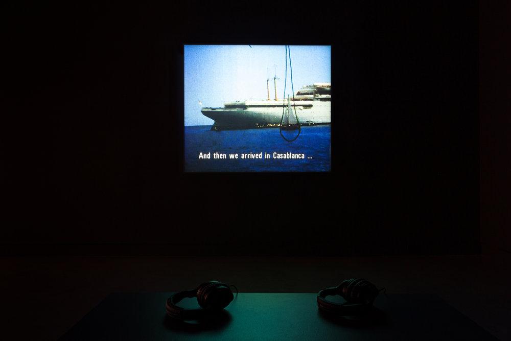 ©Lisl Ponger, Passages (1996).Vue de l'exposition.Photo : Marilou Crispin.