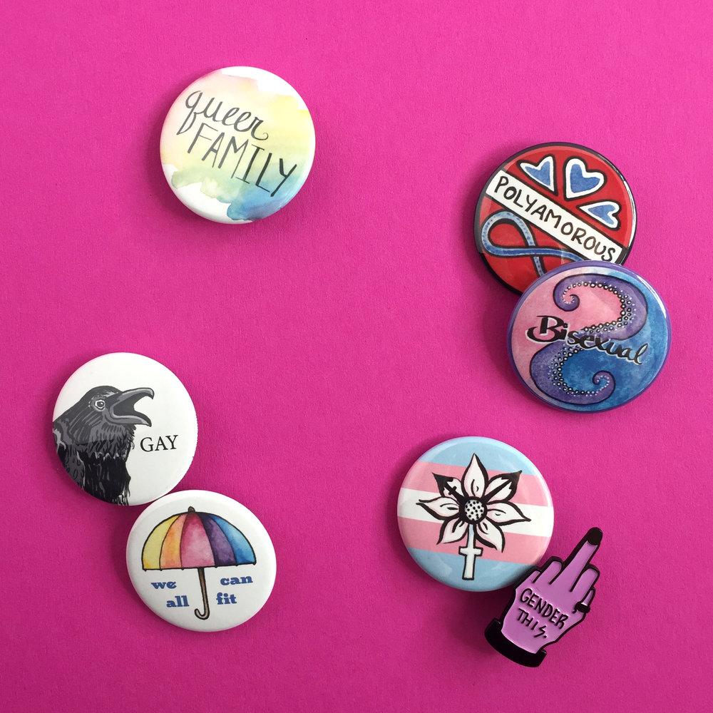 pins -