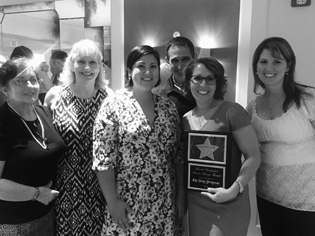 Another group photo from the Daily Progress Readers' Choice Awards # firstplace #chiropractor  #chiropractic #cville #charlottesvilleva #charlottesville #dailyprogress