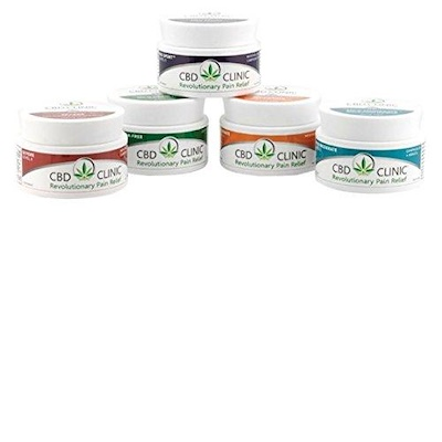 CBD Clinic Ointment   CBD infused topical analgesics. For relief of minor aches and pains of muscles and joints associated with backache, arthritis, strains, bruises, and sprains. Various levels are available for your specific needs.