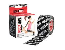 RockTape   RockTape can accelerate recovery from injuries AND enhance sports performance. The biomechanical lifting action of the tape relieves pain and enhances blood flow for better delivery of oxygen and faster removal of lactic acid. This translates directly into faster recovery from both injuries and intense exercise.