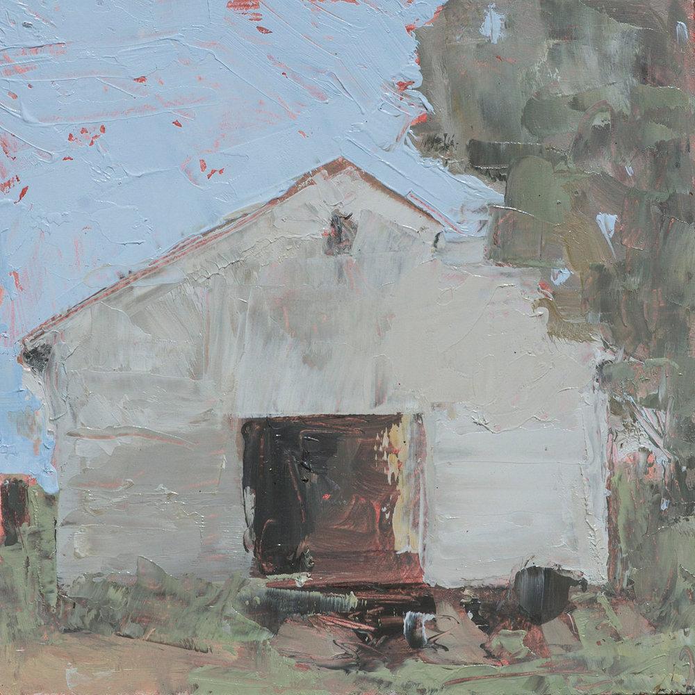 #14 6x6 oil paint