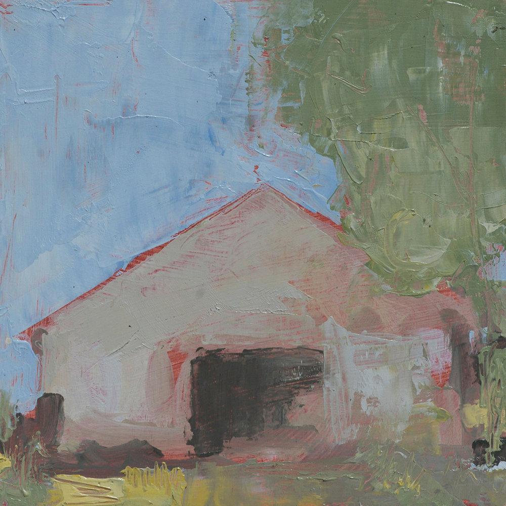 #18 6x6 oil paint