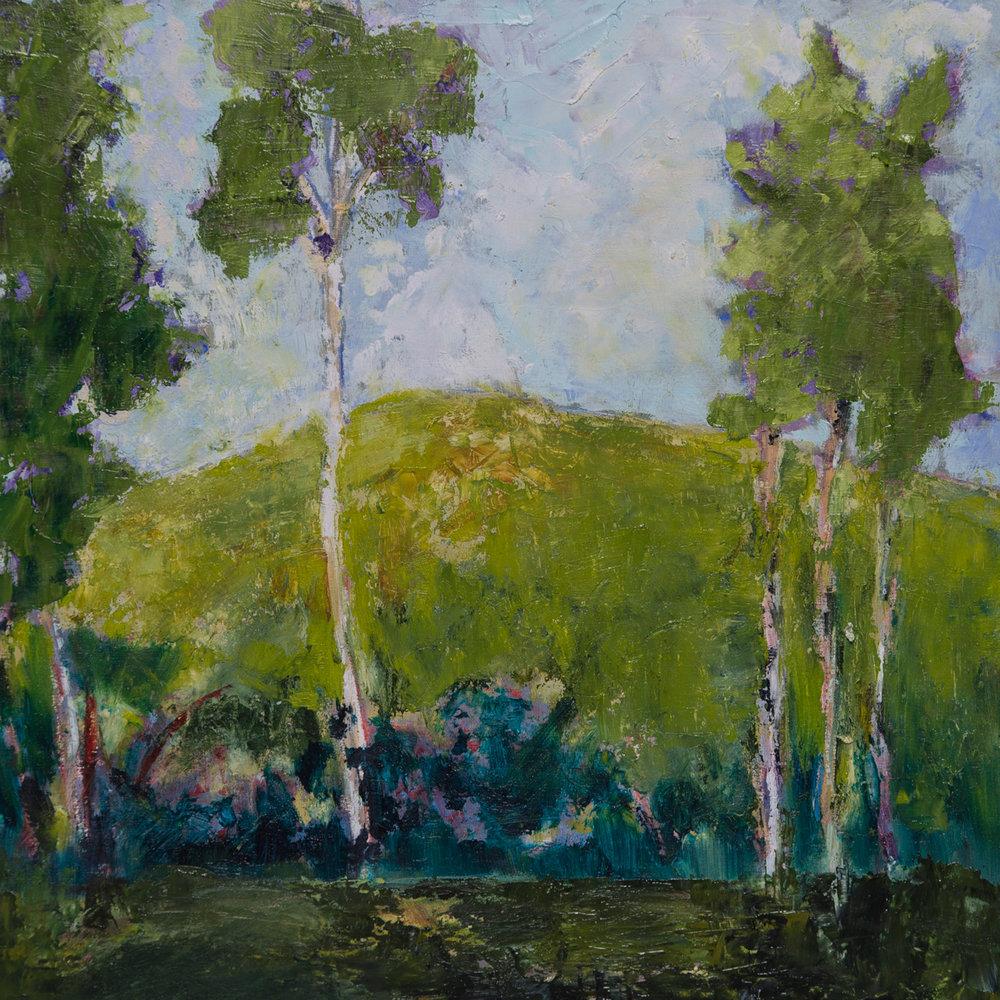 #19 12x12 oil paint