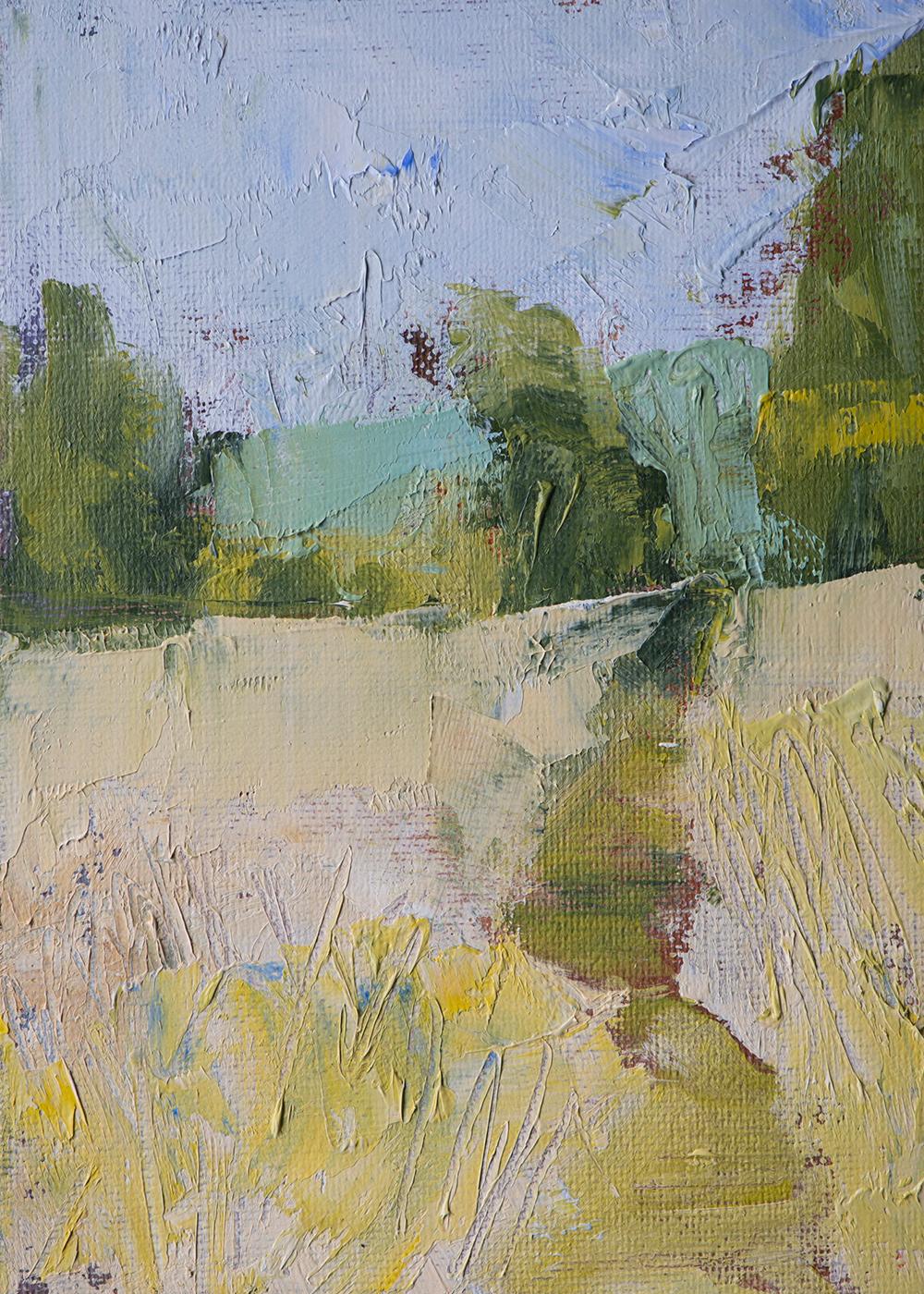 #23 5x7 oil paint