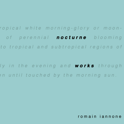 Romain Iannone - Nocturne Works oqko_006