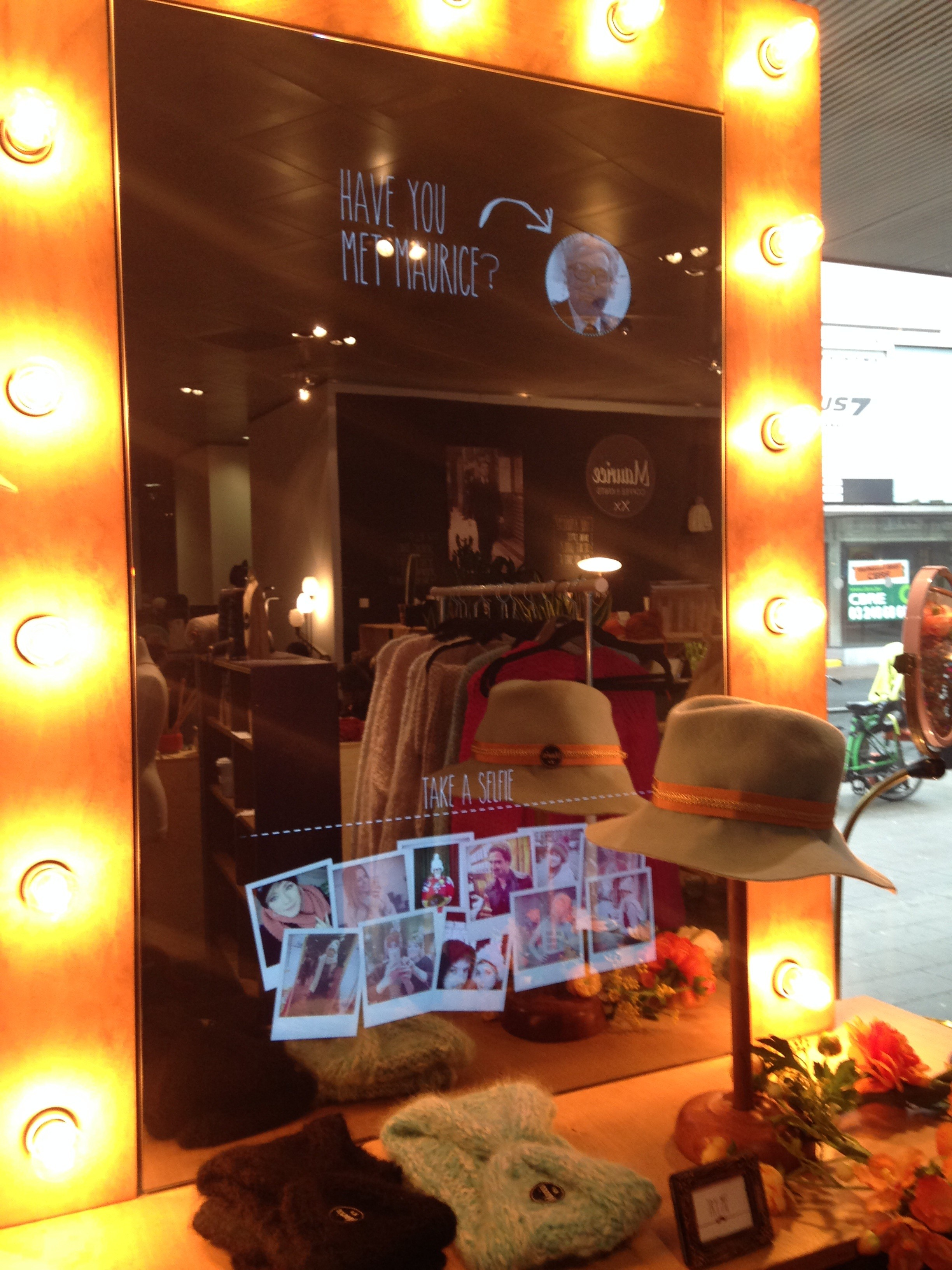 Innovation Boulevard Maurice Coffeebar Magic Mirror