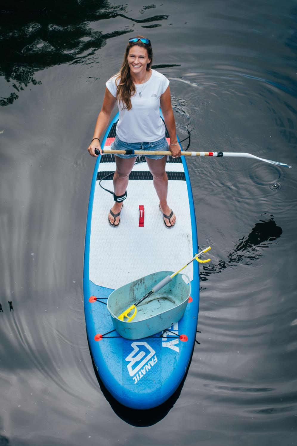2016 - FIRST PERSON TO PADDLE BOARD THE ENTIRE LENGTH OF BRITAIN'S WATERWAYS
