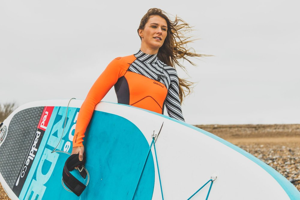 2017 - First woman to paddle board solo across the English Channel
