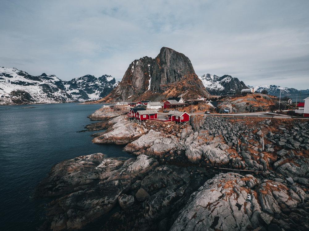 Lofted Island Fisherman Huts