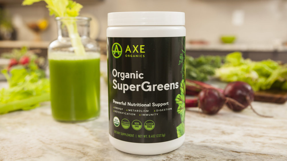 Axe organic supergreens